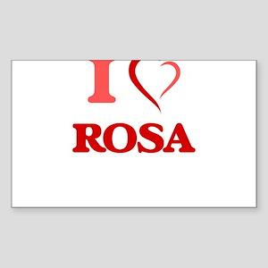 I Love Rosa Sticker