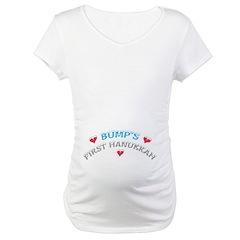 Baby Bump's 1st Hanukkah Shirt