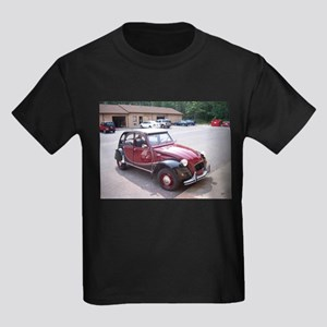 2CV Red Kids Dark T-Shirt