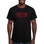 Socialism Kills Men's Fitted T-Shirt (dark)