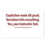 Socialism Kills Postcards (Package of 8)