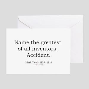 Mark Twain 3 Greeting Card