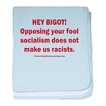 Fools for Socialism baby blanket