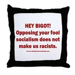 Fools for Socialism Throw Pillow