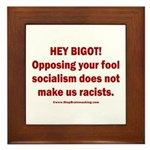 Fools for Socialism Framed Tile