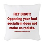 Fools for Socialism Woven Throw Pillow