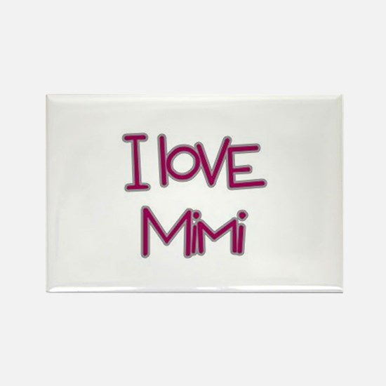 Cute Mimi rocks Rectangle Magnet