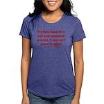Racism Weapon Womens Tri-blend T-Shirt