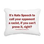 Racism Weapon Rectangular Canvas Pillow