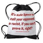 Racism Weapon Drawstring Bag