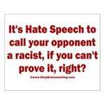 Racism Weapon Small Poster