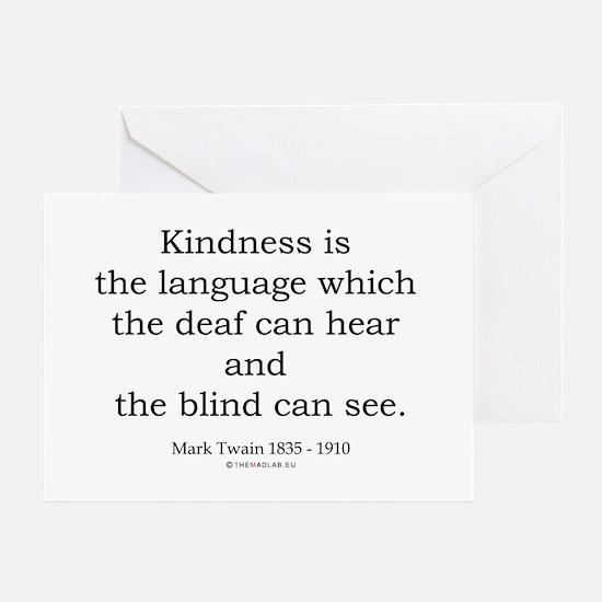 Mark Twain 6 Greeting Card