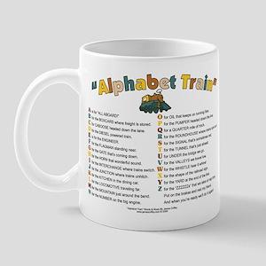 AlphabetTrainALLMetal Mugs