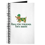 Kiss Me Weiner dog Journal