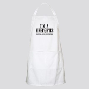 I'm A Firefighter-Light Apron