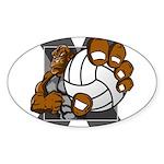 Apex Oval Sticker (50 pk)