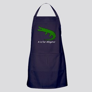 A is for Alligator Apron (dark)