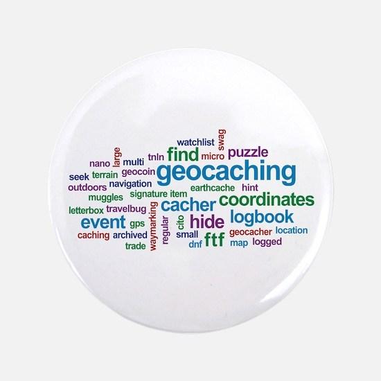"Geocaching Word Cloud 3.5"" Button"