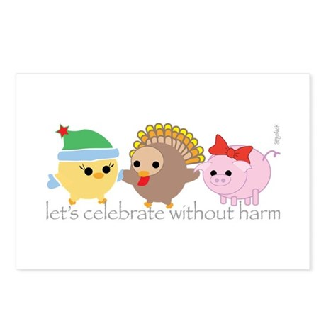 Let's Celebrate Postcards (Package of 8)