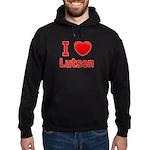 I Love Lutsen Hoodie (dark)