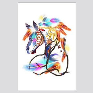Bright Horse Large Poster
