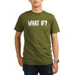What If? Organic Men's T-Shirt (dark)