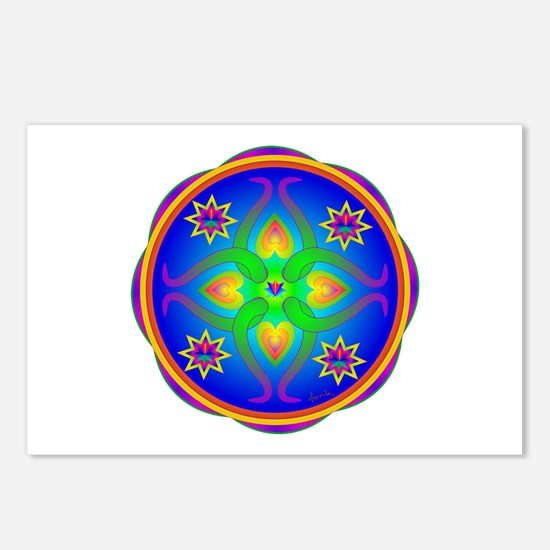 Healing Mandala Postcards (Package of 8)