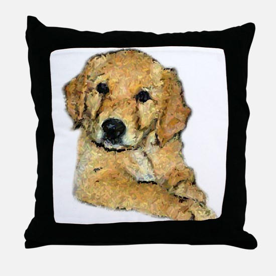 Golden Retriever Gifts Throw Pillow