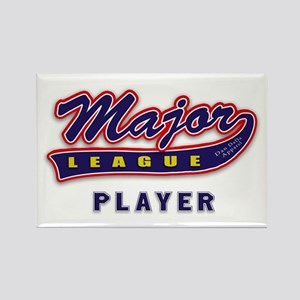 Major League Player Rectangle Magnet