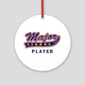 Major League Player Ornament (Round)