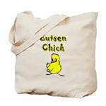 Lutsen Chick Tote Bag