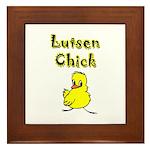 Lutsen Chick Framed Tile