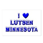 I Love Lutsen Winter Postcards (Package of 8)