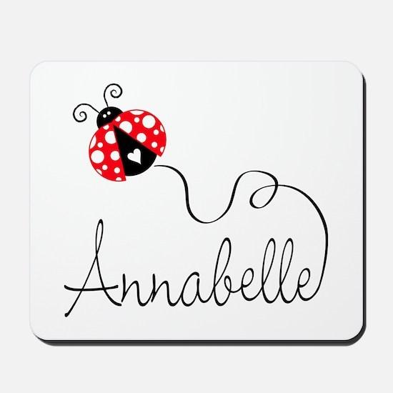 Ladybug Annabelle Mousepad