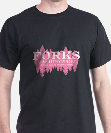 Forks - Washington (in girly T-Shirt
