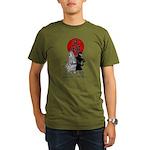 BJK Ninja Organic Men's T-Shirt (dark)