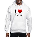 I Love Tofte Hooded Sweatshirt
