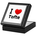 I Love Tofte Keepsake Box
