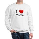 I Love Tofte Sweatshirt