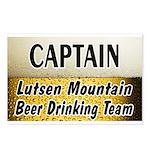 Lutsen Beer Drinking Team Postcards (Package of 8)