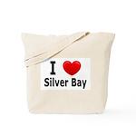 I Love Silver Bay Tote Bag