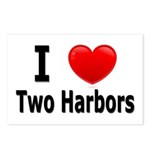 I Love Two Harbors Postcards (Package of 8)