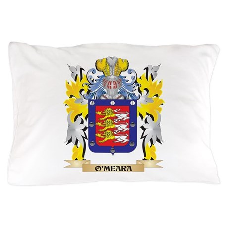 O'Meara Family Crest - Coat of Arm Pillow Case