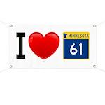 I Love Highway 61 Banner