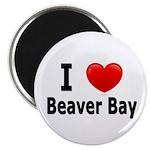 I Love Beaver Bay Magnet