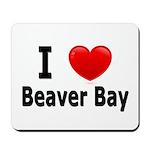 I Love Beaver Bay Mousepad