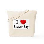 I Love Beaver Bay Tote Bag
