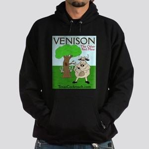 Venison - The Other Red Meat Hoodie (dark)