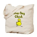 Silver Bay Chick Tote Bag