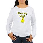 Silver Bay Chick Women's Long Sleeve T-Shirt